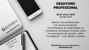 DESAYUNO compliance