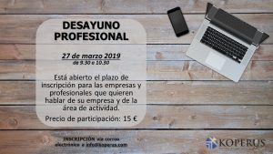 DESAYUNO PROFESIONAL – NETWORKING