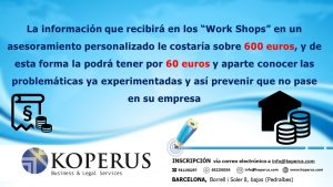 WORK SHOPS de Compliance en Barcelona