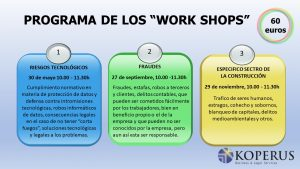 WORK SHOPS de Compliance