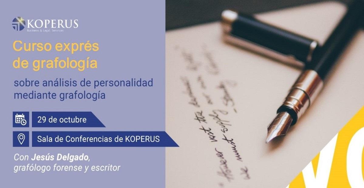 Curso exprés de grafología 29-10-2019